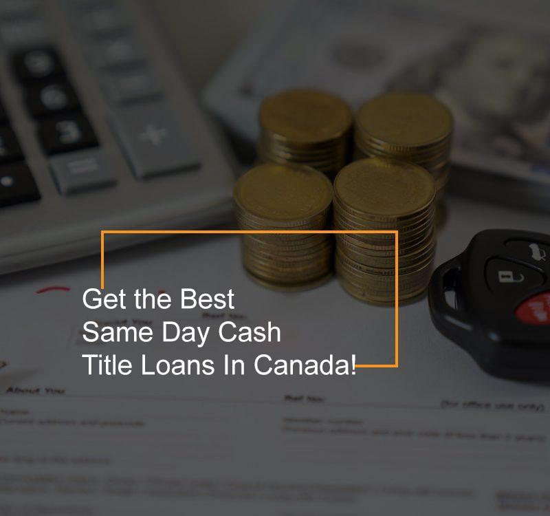 same day cash title loan