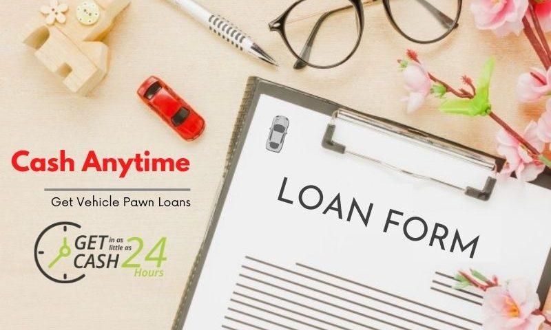 Vehicle Pawn Loans